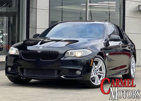 2012 BMW 5 Series for sale at Carmel Motors in Indianapolis IN