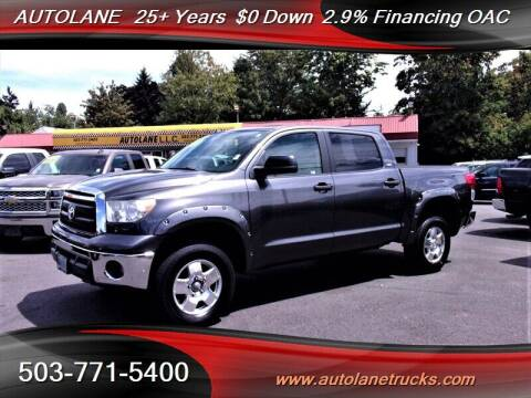 2011 Toyota Tundra for sale at Auto Lane in Portland OR