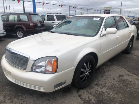 2001 Cadillac DeVille for sale at TTT Auto Sales in Spokane WA