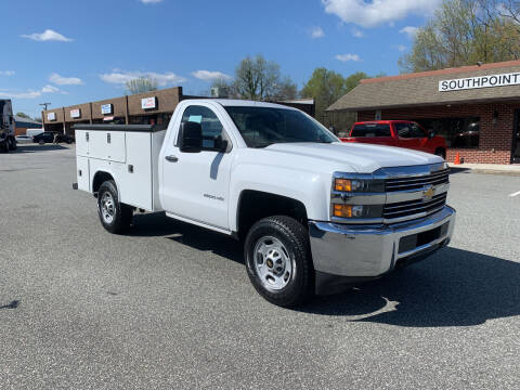 2015 Chevrolet Silverado 2500HD for sale at Southpoint Auto Sales LLC in Greensboro NC