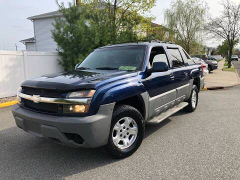 2002 Chevrolet Avalanche for sale at Giordano Auto Sales in Hasbrouck Heights NJ