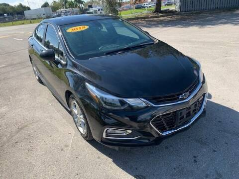 2018 Chevrolet Cruze for sale at VC Auto Sales in Miami FL
