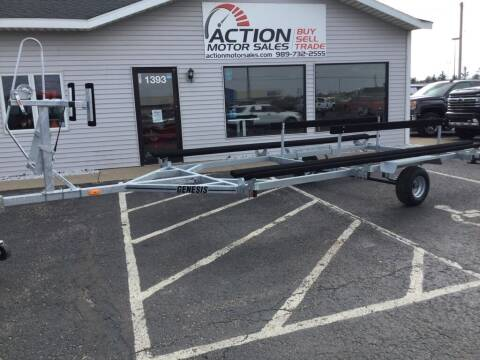 2021 GENESIS TRAILERS MBPT18-1 for sale at Action Motor Sales in Gaylord MI