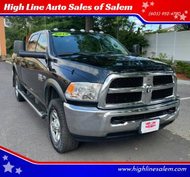2018 RAM Ram Pickup 2500 for sale at High Line Auto Sales of Salem in Salem NH