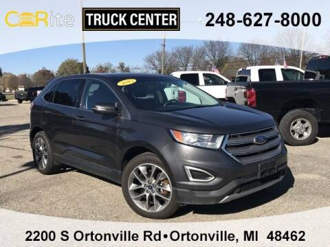 2015 Ford Edge for sale at Carite Truck Center in Ortonville MI