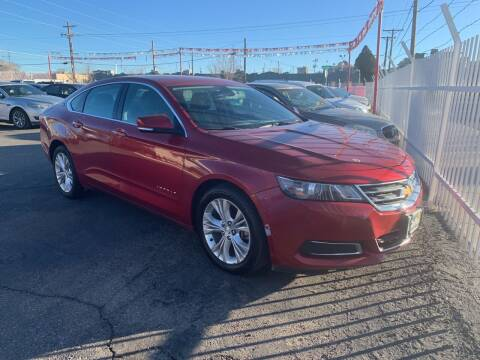 2015 Chevrolet Impala for sale at Robert B Gibson Auto Sales INC in Albuquerque NM