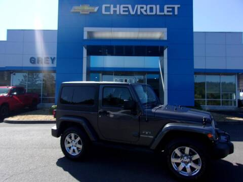 2018 Jeep Wrangler JK for sale at Grey Chevrolet, Inc. in Port Orchard WA
