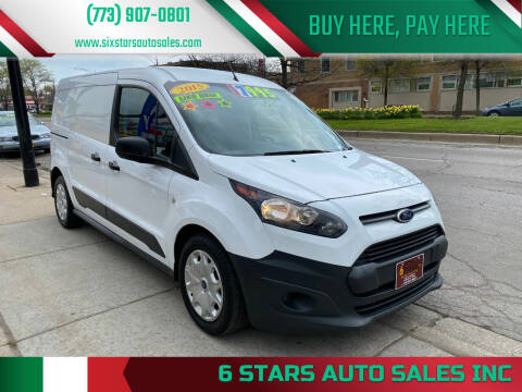 2015 Ford Transit Connect Cargo for sale at 6 STARS AUTO SALES INC in Chicago IL