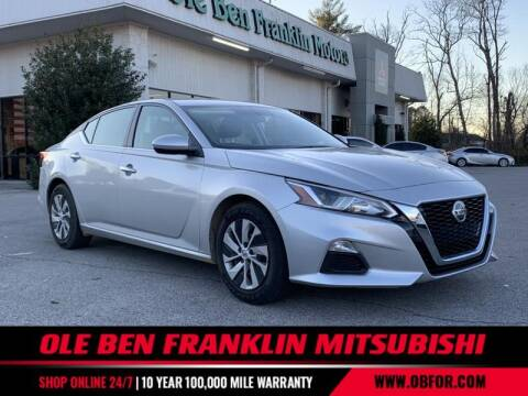 2019 Nissan Altima for sale at Ole Ben Franklin Mitsbishi in Oak Ridge TN