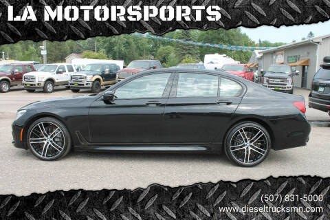 2018 BMW 7 Series for sale at LA MOTORSPORTS in Windom MN