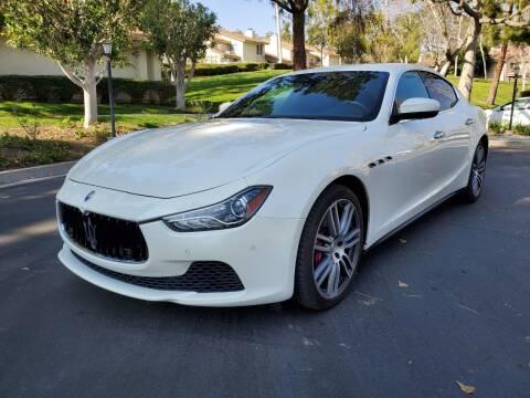 2017 Maserati Ghibli for sale at E MOTORCARS in Fullerton CA