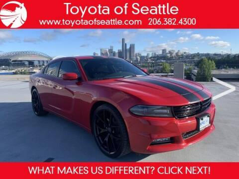 2016 Dodge Charger for sale at Toyota of Seattle in Seattle WA