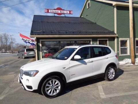 2016 BMW X3 for sale at SCHURMAN MOTOR COMPANY in Lancaster NH