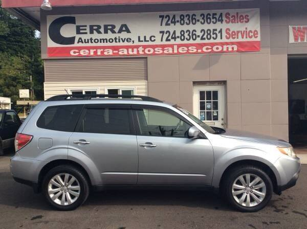 2013 Subaru Forester for sale at Cerra Automotive LLC in Greensburg PA