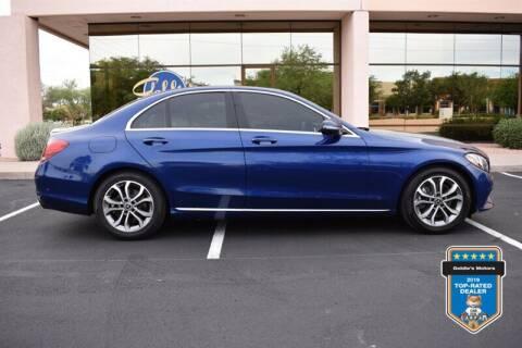 2018 Mercedes-Benz C-Class for sale at GOLDIES MOTORS in Phoenix AZ
