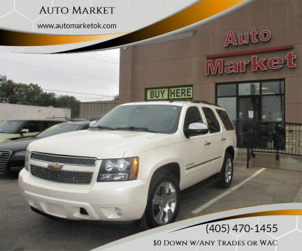 2009 Chevrolet Tahoe for sale at Auto Market in Oklahoma City OK