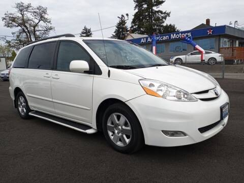 2009 Toyota Sienna for sale at All American Motors in Tacoma WA