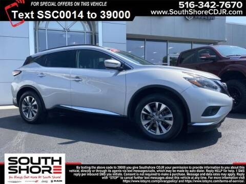 2018 Nissan Murano for sale at South Shore Chrysler Dodge Jeep Ram in Inwood NY