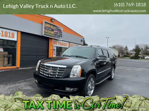 2008 Cadillac Escalade ESV for sale at Lehigh Valley Truck n Auto LLC. in Schnecksville PA