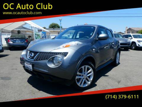 2011 Nissan JUKE for sale at OC Auto Club in Midway City CA