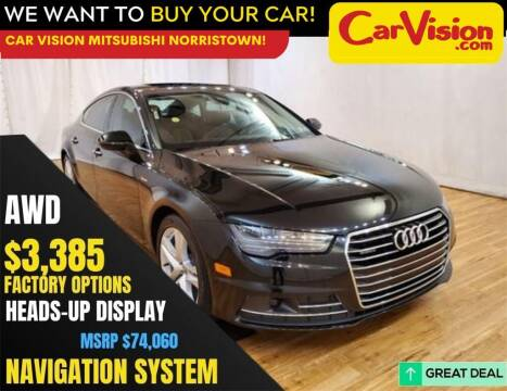 2018 Audi A7 for sale at Car Vision Mitsubishi Norristown in Norristown PA