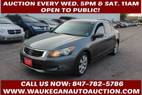 2008 Honda Accord for sale at Waukegan Auto Auction in Waukegan IL