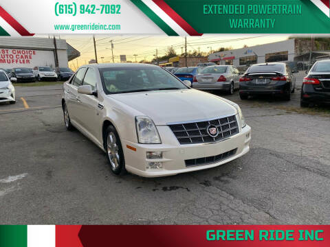 2008 Cadillac STS for sale at Green Ride Inc in Nashville TN