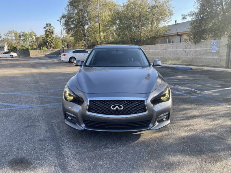 2015 Infiniti Q50 for sale at AutoHaus in Colton CA