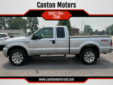 2005 Ford F-250 Super Duty for sale at Canton Motors in Canton SD