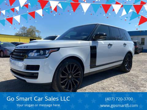 2017 Land Rover Range Rover for sale at Go Smart Car Sales LLC in Winter Garden FL