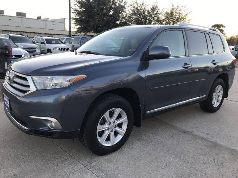 2012 Toyota Highlander for sale at AMIGO USED CARS in Houston TX