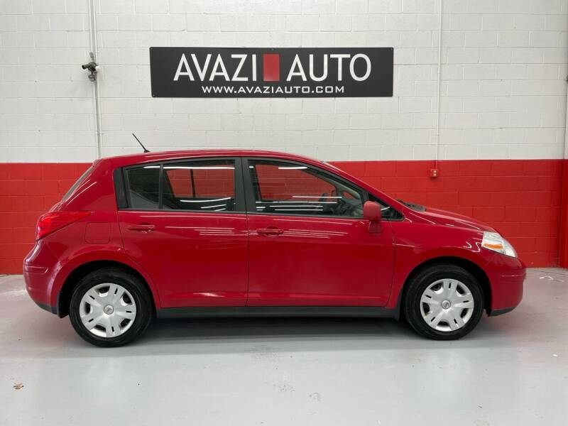 2010 Nissan Versa for sale at AVAZI AUTO GROUP LLC in Gaithersburg MD