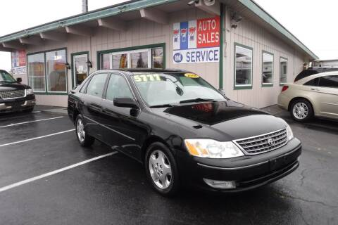 2004 Toyota Avalon for sale at 777 Auto Sales and Service in Tacoma WA