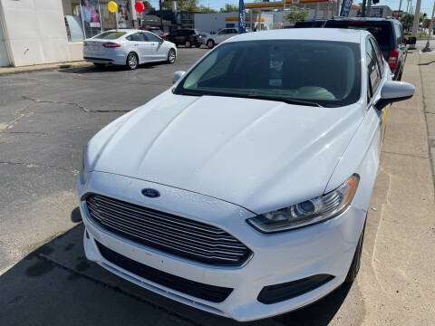 2014 Ford Fusion for sale at National Auto Sales Inc. - Hazel Park Lot in Hazel Park MI