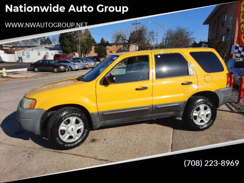 2003 Ford Escape for sale at Nationwide Auto Group in Melrose Park IL