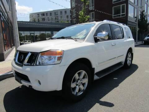 2012 Nissan Armada for sale at Boston Auto Sales in Brighton MA