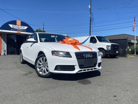 2012 Audi A4 for sale at OTOCITY in Totowa NJ