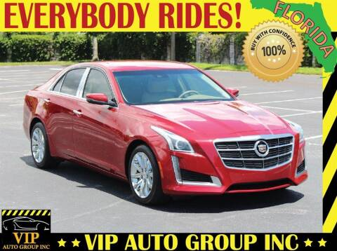 2014 Cadillac CTS for sale at VIP Auto Group in Clearwater FL