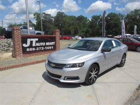 2016 Chevrolet Impala for sale at J T Auto Group in Sanford NC