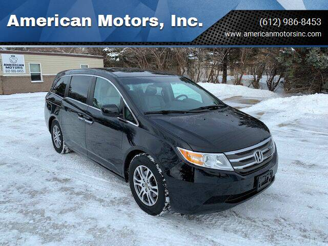 2012 Honda Odyssey for sale at American Motors, Inc. in Farmington MN