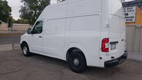 2017 Nissan NV Cargo for sale at Shick Automotive Inc in North Hills CA