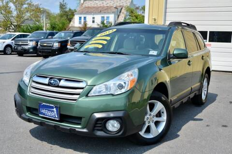 2014 Subaru Outback for sale at Lighthouse Motors Inc. in Pleasantville NJ