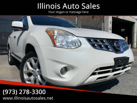2012 Nissan Rogue for sale at Illinois Auto Sales in Paterson NJ