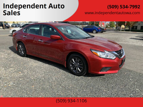 2017 Nissan Altima for sale at Independent Auto Sales in Spokane Valley WA