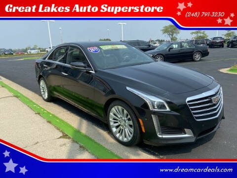 2017 Cadillac CTS for sale at Great Lakes Auto Superstore in Waterford Township MI