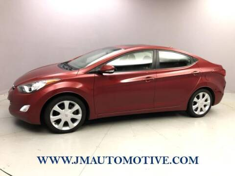 2012 Hyundai Elantra for sale at J & M Automotive in Naugatuck CT