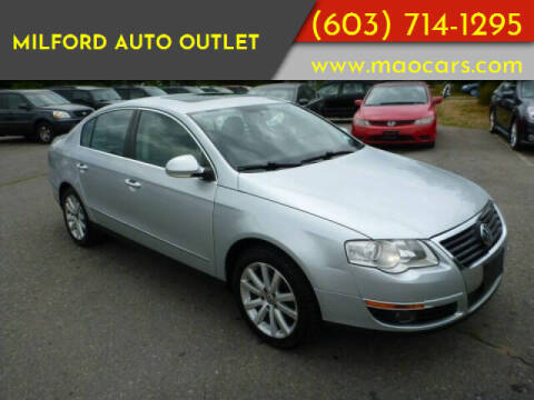 2010 Volkswagen Passat for sale at Milford Auto Outlet in Milford NH