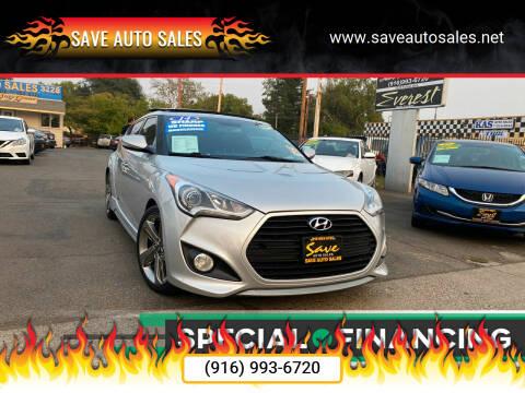 2014 Hyundai Veloster for sale at Save Auto Sales in Sacramento CA