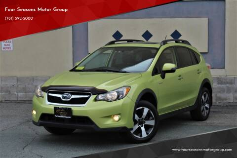 2014 Subaru XV Crosstrek for sale at Four Seasons Motor Group in Swampscott MA