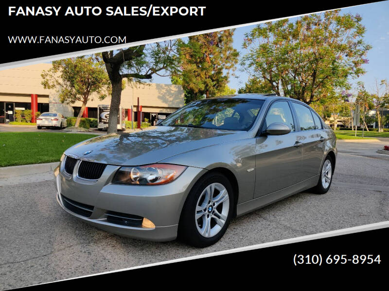 2008 BMW 3 Series for sale at FANASY AUTO SALES/EXPORT in Yorba Linda CA
